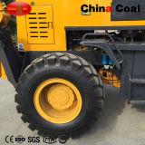 2,5 t de Rock de la rueda de la retroexcavadora cargadora con el cubo grande