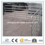 VIEH-Yard-Panel der USA-rundes Feder-12foot Stahl/Pferden-Yard-Panel