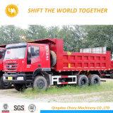 Hongyan를 가진 고품질 6X4 팁 주는 사람 또는 쓰레기꾼 덤프 트럭