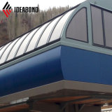 Materiais de Construção Metálica Ideabond PVDF painéis de parede exterior de alumínio