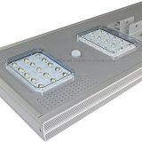 1개의 태양 LED 가로등 30W에서 고품질 전부