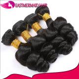 Красивейшие бразильские свободные человеческие волосы 100% волны связывают волос Non-Remy