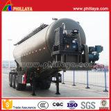 45 Cbm tanque petroleiro de transporte de cimento em pó Semi Carreta / Transportador Navio de cimento