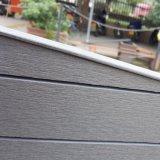 Cerca de madeira arqueada para a cerca da privacidade do jardim