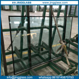 Fábrica de vidro isolada lisa do vidro laminado de vidro Tempered do espaço livre do baixo preço