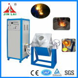 MittelfrequenzRotary 25kg Iron Scrap Melting Furnace (JLZ-45)