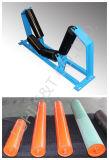 De alta calidad de rodillo transportador de rodillos de PU// Rodillo de goma para transportador de correa