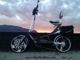 500W組み込みのコントローラが付いている電気バイクモーター車輪