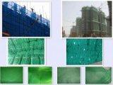 緑色のプラスチック構築安全網(ZL-PN)