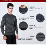 Yak-Wolle-/Kaschmir-runder Stutzen-Pullover-lange Hülsen-Strickjacke
