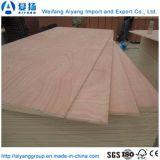 Los muebles de madera contrachapada con Natural Bintangor/Okoume y lápiz, el cedro se enfrentan a la chapa
