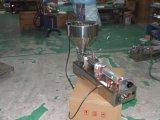 Llenador volumétrico neumático del atasco del pistón de Benchtop con el mezclador