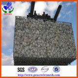 Heißes BAD-galvanisierter PVC-Schicht Gabion Korb