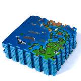 印刷の世界地図のアクティビティ・エリアのためのカスタム床のエヴァの泡の困惑のマット