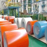 Galvanisé laminé / bobine d'acier galvanisé recouvert de couleur