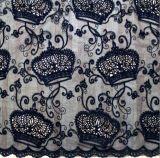 Diseño de la Corona Imperial de la leche textiles hilados de encaje bordado de ropa para mujer.