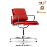 オフィスのアルミニウム現代旋回装置の革元の管理の椅子(E001A-1)