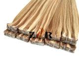 14-24 de Band van de Blonde van de duim in Braziliaanse Haar van het Haar van de Uitbreiding van het Menselijke Haar het Indische
