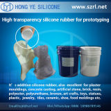 반투명 40 Shore Rapid Prototyping Silicone Rubber, Low Shrinkage를 가진 Addition Silicone Rubber