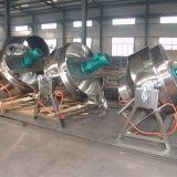 Grande doppio POT di cottura rivestito di riscaldamento cotto a vapore industriale di modo