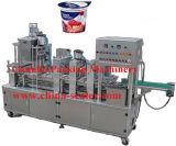 Automatische Joghurt-Cup-Plombe und Dichtungs-Maschine (PCF-2)