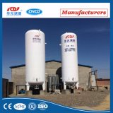 Tanque de armazenamento criogênico do CO2 do LPG de GNL do oxigênio líquido do pó do vácuo