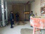 1 parete di rapporto della sabbia del cemento 4 che intonaca la macchina dello spruzzatore della parete esterna della rappresentazione