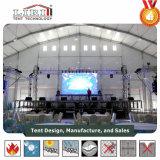 40X60m на дисплее отображается Палатка для больших выставки, ярмарки, на дисплее отображается