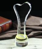 Schermo di cristallo del premio del trofeo personalizzato K9 del ricordo del Keepsake