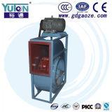 Ventilador de la eliminación del polvo de Yuton con el funcionamiento del mecanismo impulsor de correa