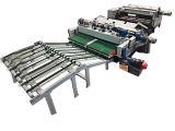 Chaîne de production rotatoire d'écaillement de placage en bois automatique