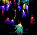 Ce LED solaire certifié RoHS Outdoor Fairy Feux de chaîne pour Noël