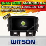 Witson AndroidシボレーCruzeのための4.4.4 (W2-A6751C) 1080P HD Video 1.6GHz Frequency DVR 3D Map