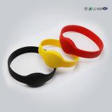 SilikonWristband des Zoll-unterschiedlicher Farben-Silikon-NFC