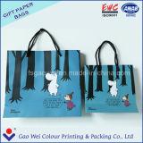 新しく豪華な顧客のロゴによって印刷されるショッピング・バッグ、ギフト袋、ハンドルが付いている紙袋