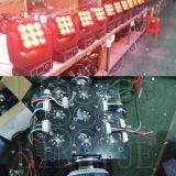 9X12W RGBW DMX Matrix-beweglicher Kopf des Träger-LED