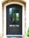 Современный одного из кованого железа с хорошим качеством передней двери