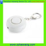 Regalo de la promoción ABS OEM multifunción Alarma personal con llave ajustable de luz LED
