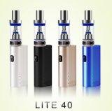 건축하 에서 건전지를 가진 최신 도매 E 담배 3ml 2200mAh Jomo 라이트 40 기화기