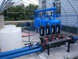 Het auto Systeem van de Filtratie van de Media van het Zand met de Verdeler van het Water en Collector/de Machine van de Filtratie van het Water
