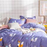 Bela Designmicrofiber Impresso Folha de rosto do conjunto de roupa de cama
