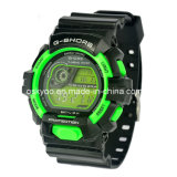 Logo High Quality 3ATM Waterproof LCD Digital Electronic Watch를 주문을 받아서 만드십시오