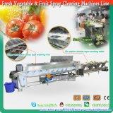 2016 Frutas y Verduras de limpieza por aspersión máquinas de clasificación Línea de Selección y Preparación