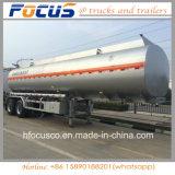 Китайская верхняя часть топливозаправщик трейлера 42000 галлонов алюминиевый для светлой поставки дизельного масла