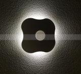 クローバー夜動きセンサーの壁ライトLED照明寝室の誘導ランプ