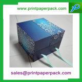 Картон высокого качества упаковывая магнитную коробку ювелирных изделий