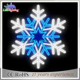 LED à bas prix de la corde décorative en plein air de Noël flocon de neige la lumière