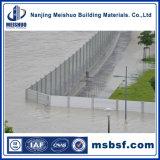 La Cina ha anodizzato la barriera di alluminio del portello dell'inondazione