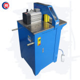 Machine de découpage en caoutchouc hydraulique de tube de boyau de fil avec à faible bruit