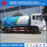 Dongfengの下水道の糞便きれいなトラック8000litersの真空か下水の吸引のトラック